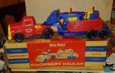 Eldon Big Poly MACHINERY HAULER. SKIP LOADER/TRACTOR/TRAILER  MINT IN BOX