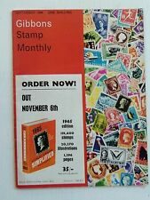 GIBBONS STAMP MONTHLY SEP 1964-SERBIA 1840-1880 (cont),CHATEAUX OF FRANCE (cont)