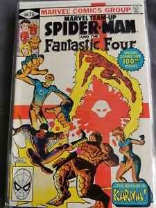 Marvel team up Spiderman 100 131  133  136 143 144 comics