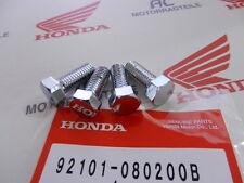 Honda GL 1000 Goldwing Chrom Schraube Set Anbauteile Motorhalteblech Halteblech