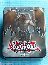 Yu-gi-oh Prophecy Destroyer Collector's Tin 2012 Wave 2.5 BNIB Sealed New