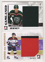 07-08 ITG Mark Katic 2 Color Jersey Heroes & Prospects No.129