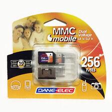 Dane-Elec Memory Card & Carry Case: 256MB (USB Photo Video Music MP3 Storage)
