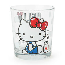 Sanrio Hello Kitty Boxed Glass Cup 7.8 × 7.8 × 8.8cm 255ml Kawaii Cute