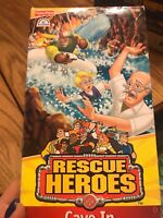 RESCUE HEROS - CAVE IN VHS NEW ANIMATED - FISHER PRICE Ships N 24h