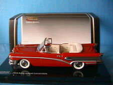 BUICK SPECIAL CONVERTIBLE SEMINOLE RED 1958 VITESSE 36260 1/43 ROUGE ROSSO RED
