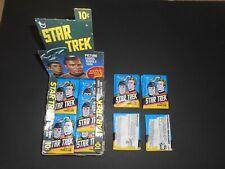 (1) 1976 Topps Star Trek TV Series Unopened Sealed Wax Pack EX-