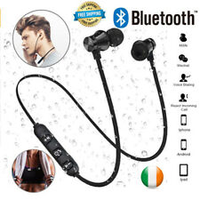 Bluetooth Earphones Sweatproof Wireless Headphones For iPhone Samsung Headset