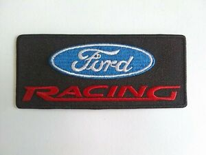 Ford Racing Sew or Iron On Patch Racing Car Motorsport Badge