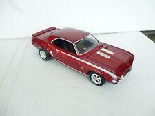 Ertl 1/18 Scale Diecast - 1969 Chevrolet Camaro SS Custom In Metal Red Ohne box