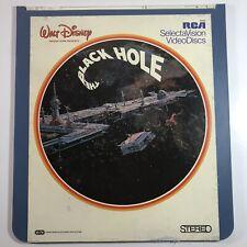 Walt Disneys The Black Hole CED Video Disc Sci Fi Movie SelectaVision RARE