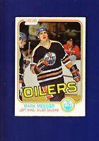 Mark Messier HOF 1981-82 O-PEE-CHEE OPC Hockey #118 (VGEX+) Edmonton Oilers