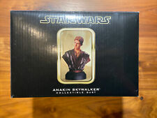 Gentle Giant Star Wars Anakin Skywalker Collectible Bust #1767/2500 Mib 2002 6""