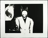 """""""Gestalt"""" 1994. GROSSE Aquatinta Max NEUMANN (*1949 D), handsigniert numm. 23/30"""