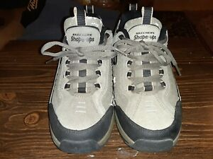 Skechers Shape Ups Shoes Olive PBL 52000 Size 9.5 PREOWNED AND PEELING