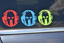 "2020 Spartan Race Solid Vinyl Decal Set of 3 3"" New Free Ship Trifecta"