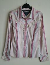 TOMMY HILFIGER LADIES SHIRT SIZE M MAY FIT A 10-12