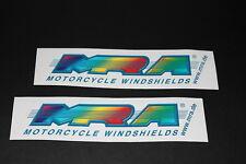 +088 MRA Windshields Windschild Scheibe Aufkleber Decal Sticker Autocollant Bike