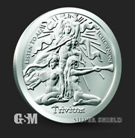 2020 - 1 oz .999 Fine Silver Round SilverShield Trivium Girls Silver IN-STOCK