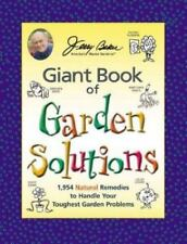 Jerry Baker's Giant Book of Garden Solutions - Hardcover - NEW