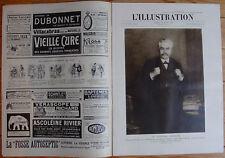 L'ILLUSTRATION 4122 DU 4/3/1922 MILLERAND EMILE PICARD RUGBY TWICKENHAM OPERA