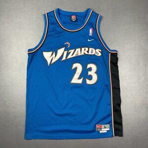 100% Authentic Michael Jordan Wizards Nike Swingman Jersey Size L 44 Mens