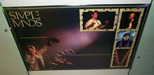 SIMPLE MINDS Live Vintage 1988 Poster New Condition