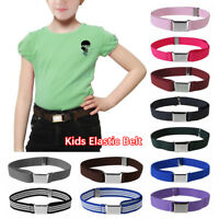 Fashion Boy&Girls Buckles Waistband Adjustable Canvas Belt Kid's Wear Supplies