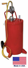 Gas Amp Fuel Caddy Commercial 25 Gallon Ul Amp Osha Approved Rotary Hand Pump