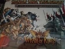 Wrath of Kings Honor and Treachery The Battle of Ravenwood 2-Player Box Game