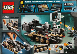 LEGO 70161 ULTRA AGENTS TREMOR TRACK INFILTRATION ASTOR CITY POWER-PUNCHING FIST