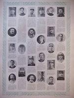 TABLEAU D'HONNEUR 4 PLANCHES N°393 au N°396 DES VICTIMES DE GUERRE 1914/1918