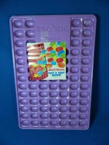 Jello Jigglers Jelly Beans Purple Molds Mini Dimensional Easter ~ EXCELLENT!