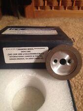 Diamond Grinding Wheel D6V5 120 Grit Carbide, End Mill, Saw Blade Sharpening