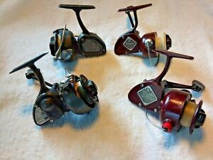 Lot of 4 Vintage Shakespeare Spinning Fishing Reels 2062~2052~2210LH~2068(Rare)