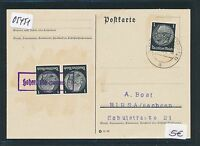 05451) DR Ostgebiete Not-Stempel Hohenlinde ( Oberschles.)