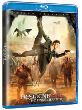 RESIDENT EVIL - The Final Chapter (BLU-RAY) Sesto Film Saga con Milla Jovovich