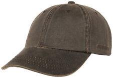 STETSON Baseball Cap Hat Statesboro 6 Braun Sun Guard Vintage Trend New