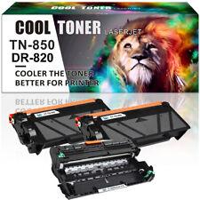 Toner Compatible for Brother TN850 DR820 Drum MFC-L6700DW MFC-L5850DW L6200DW