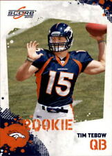 2010 Score #396 Tim Tebow Rookie Card