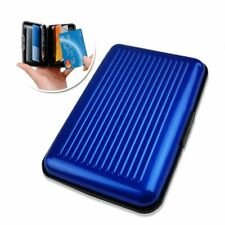 Aluminum Credit Card Wallet RFID Blocking Case Credit Card Holder for Men Women