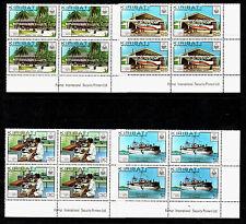 Kiribati London 1980 Exhibition Corner Blocks x 4 Superb MNH