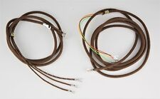 Cloth Covered Telephone cords - Handset & Line - Brown - SKU - 30025