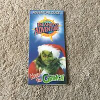 Vintage Universal Studios Florida Islands of Adventure Grinchmas 2003