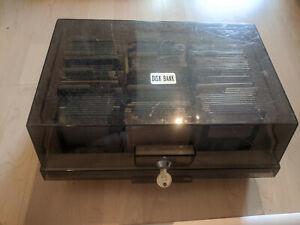 """120 3,5"""" DD Disketten Commodore Amiga in Diskettenbox"""