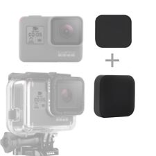 Soft Silicone Lens Cap Kit Cover Protector for GoPro Hero 6 HERO5 Black Camera