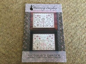 Victoria's Garden Cross Stitch Design By Heartstring samplery