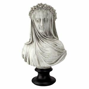 the Veiled Maiden Sculptural Bust