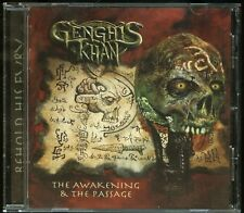 Genghis Khan The Awakening & The Passage CD new private power metal demo 86-89