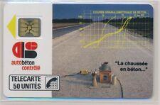 Télécarte Privée D130 neuve AUTOBETON ref TP43